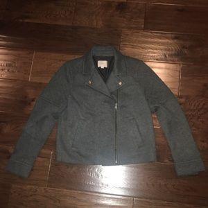 Loft Charcoal Grey Coat, size Medium
